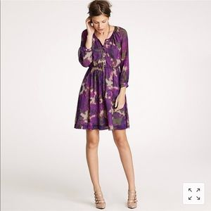 J.Crew Maisie Silk Dress